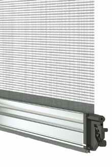 Barramaniglia Platinum per zanzariere verticali