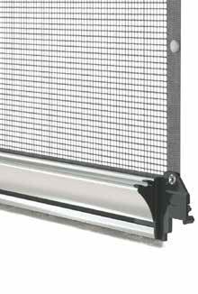 Barramaniglia Titanium per zanzariere verticali