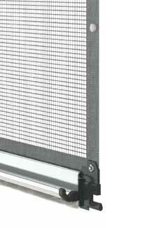 Maniglia M91 per zanzariere verticali