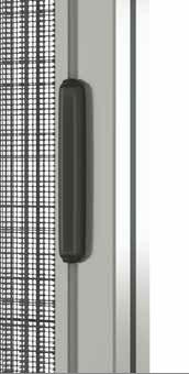 Maniglia Plisse 38mm per zanzariere laterali