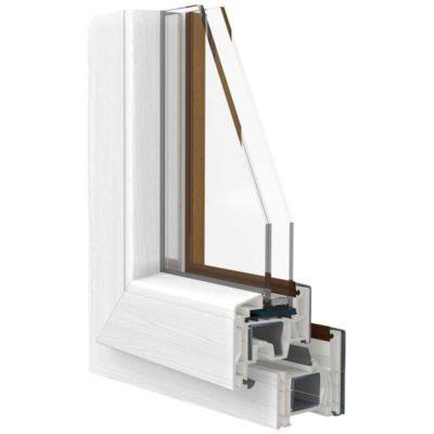 Dama di luce Line finestra PVC